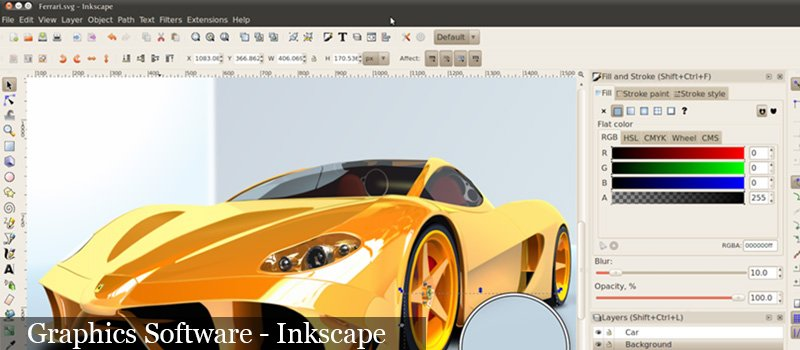 Graphic Software-Inkscape